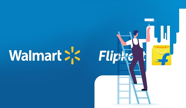walmarrt flipkart - Start up article