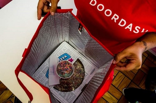 doordash delivery - startup article