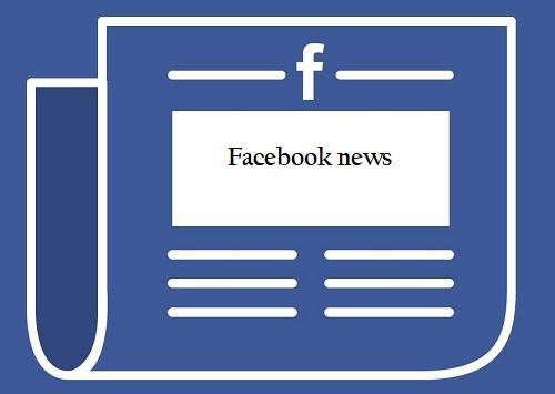 facebook news - startup article