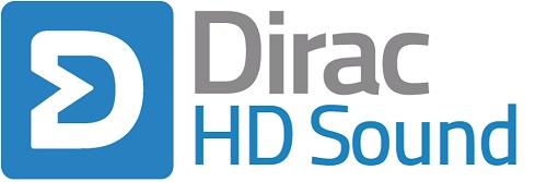 dirac hd sounds logo - startup article