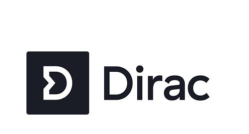 dirac logo - startup article