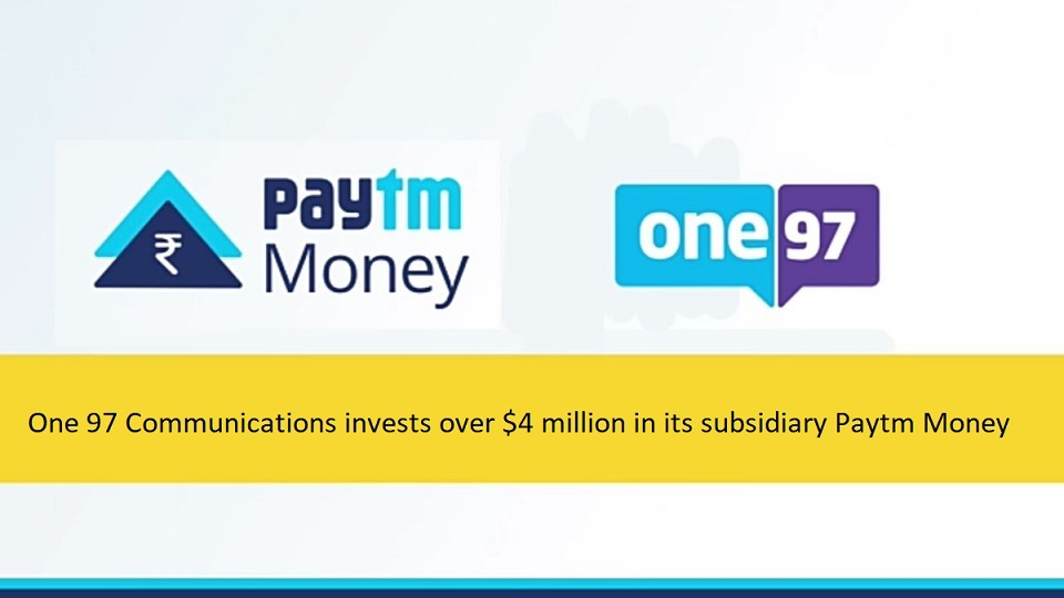 paytm one 97 - startup article