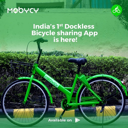 mobycy electric cycle - startup article