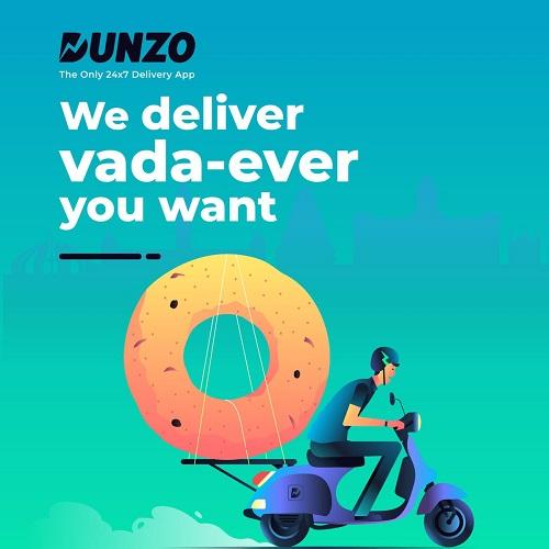 dunzo slogan - startup article
