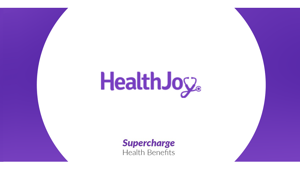 Health Joy supercharge banner - startup article