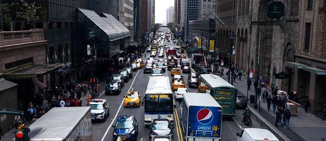 new york traffic - startup article