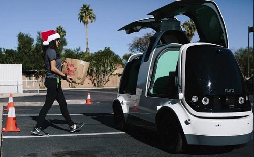 nuro driverless delivery - startup article