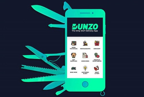 dunzo mobile app - startup article