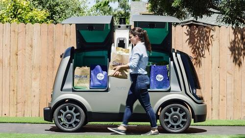 nuro robotic driverless vehicle - startup article