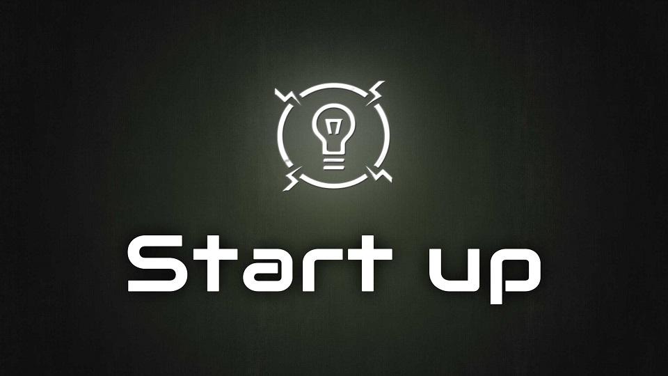 startup logo - startup article