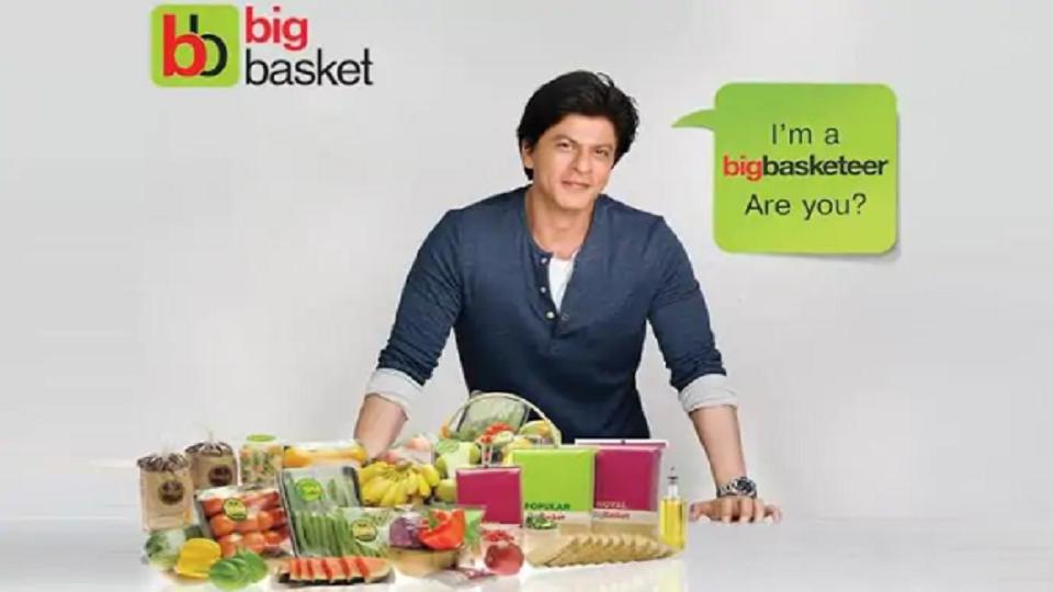 shahrukh khan bigbasket - startuparticle