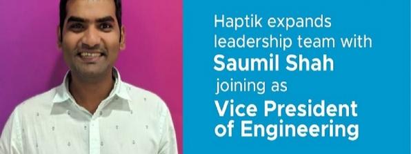 Reliance Industries' Haptik Hires Saumil Shah New VP of Engineering